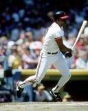 Joe Carter. Cleveland Indians OF Joe Carter.  Image taken from color slide Royalty Free Stock Photography