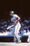 Joe Carter. Cleveland Indians OF.  (Image taken from color slide Stock Photo