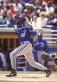 Joe Carter. Toronto BlueJays legend Joe Carter. Image taken from color slide Stock Images