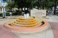Joe Chillura, quadrato del tribunale, Orlando, Florida Fotografia Stock Libera da Diritti