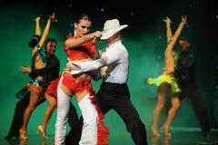 Joe coker-The cha cha-the Austria's world Dance Royalty Free Stock Photography