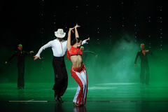 Joe coker-The cha cha-the Austria's world Dance Royalty Free Stock Image