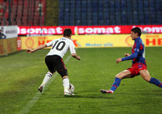 Joe Cole and Cristian Tanase Royalty Free Stock Images