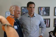 Joe Coor et Josh Romney photos libres de droits