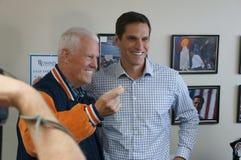 Joe Coor's en Josh Romney Stock Foto's