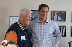 Joe Coor's and Josh Romney Royalty Free Stock Photo
