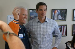 Joe Coors och Josh Romney royaltyfria foton