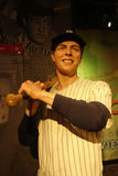 Joe DiMaggio Wax Figure Arkivfoto