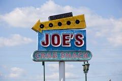 Joe doet krabben Stock Foto's