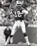 Joe Ferguson. Buffalo Bills QB Joe Ferguson, #12. (Image taken from B&W negative Royalty Free Stock Photography