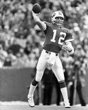 Joe Ferguson. Buffalo Bills QB Joe Ferguson, #12.  (Image taken from b&w negative Royalty Free Stock Photo