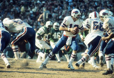 Joe Ferguson. Buffalo Bills QB.  (Image taken from color slide Royalty Free Stock Photo