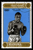 Joe Frazier Olympic Champion Postage Stamp Stock Photography