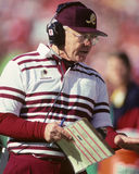 Joe Gibbs. Washington Redskins head coach, Joe Gibbs. (Image taken from color slide Stock Images