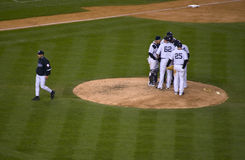 Joe Girardi 2009 ALCS Stockbilder