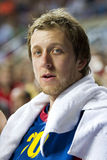 Joe Ingles of FC Barcelona Stock Images