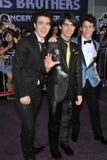 Joe Jonas, fratelli di Jonas, Kevin Jonas, Nick Jonas, Fotografia Stock Libera da Diritti