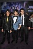 Joe Jonas, hermanos de Jonas, Kevin Jonas, Nick Jonas,   Imagen de archivo libre de regalías