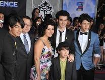 Joe Jonas, Jonas Brothers, Kevin Jonas, Inkeping Jonas Stock Foto