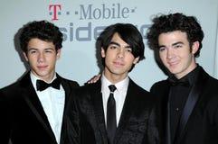 Joe Jonas, Kevin Jonas, Nick Jonas Stock Image