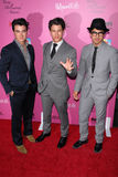 Joe Jonas,Kevin Jonas,Nick Jonas Stock Photo