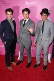 Joe Jonas, Kevin Jonas, Nick Jonas Stockfoto