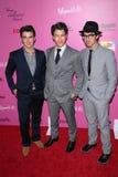 Joe Jonas,Kevin Jonas,Nick Jonas Stock Image