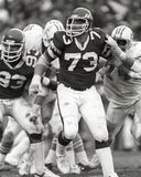 Joe Klecko. New York Jets defensive lineman Joe Klecko Royalty Free Stock Image