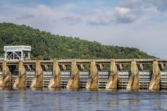 Joe kołodzieja tama Guntersville Alabama 7 Zdjęcie Stock