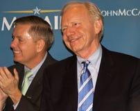 Joe Lieberman s senator u Royaltyfri Foto