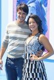 Joe LoCicero and Gina Rodriguez royalty free stock photo