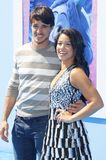 Joe LoCicero and Gina Rodriguez royalty free stock photography