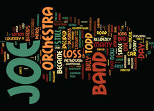 The Joe Loss Orchestra And Still In The Mood The Legend Lives On Text Background  Word Cloud Concept Stock Photos