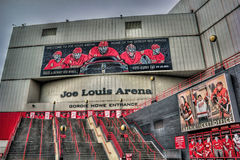 Joe Louis Arena Arkivbild
