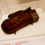 Joe Louis sparring gloves Royalty Free Stock Images