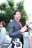 joe manganiello Obraz Royalty Free