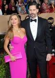 Joe Manganiello and Sofia Vergara Royalty Free Stock Photo