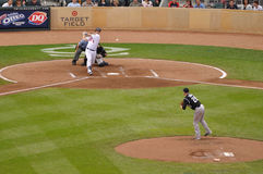 Joe Mauer Batting Stock Images