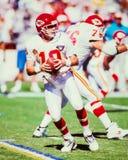 Joe Montana Kansas City Chiefs photo stock