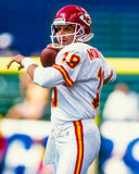 Joe Montana Kansas City Chiefs Image libre de droits