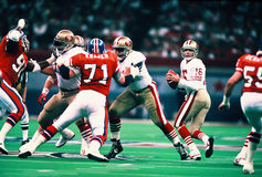 Joe Montana San Francisco 49ers Stock Photography