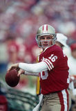 Joe Montana Of The San Francisco 49ers Image libre de droits