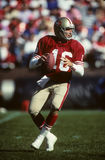 Joe Montana. San Francisco 49ers QB Joe Montana. (Image taken from color slide Stock Image