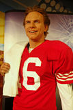 Joe Montana Wax Figue Royalty Free Stock Image