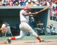 Joe Morgan. Cincinnati Reds 2B. (Image taken from color slide royalty free stock image