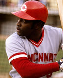Joe Morgan. Cincinnati Reds 2B.  (Image taken from color slide Stock Image