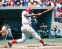 Joe Morgan. Cincinnati Reds second baseman Joe Morgan. (Image taken from color slide royalty free stock image