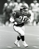 Joe Morris. New York Giants RB Joe Morris.  (Image taken from the B&W negative Royalty Free Stock Photography