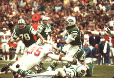 Joe Namath New York Jets Στοκ Φωτογραφία
