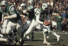 Joe Namath New York Jets Στοκ Φωτογραφίες